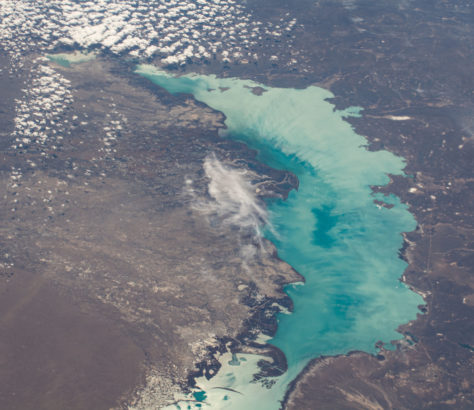 Lac Balkhach Kazakhstan Chine Environnement Pénurie