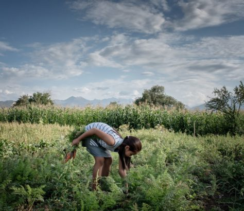 Photo du jour Kirghizstan Irina Unruh Famille Village