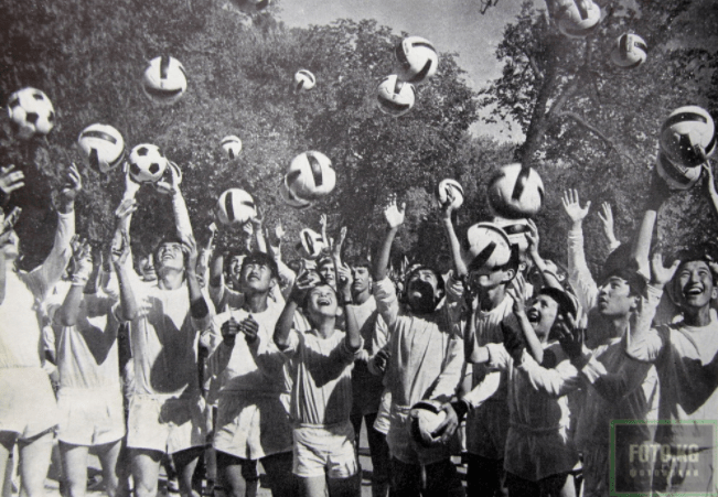 Kirghizstan Jeunes Jeunesses Football Sport URSS