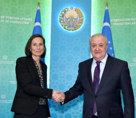 Charlotte Adriaen Abdoulaziz Kamilov Ouzbékistan Union européenne
