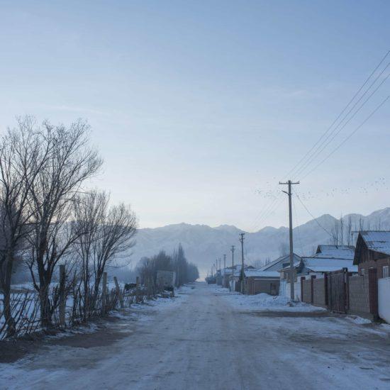 Photo du jour Irina Unruh Village Kirghizstan Hiver