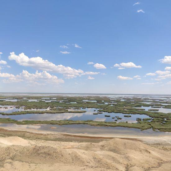 Ouzbékistan Lac Soudotche îles Désert Aral