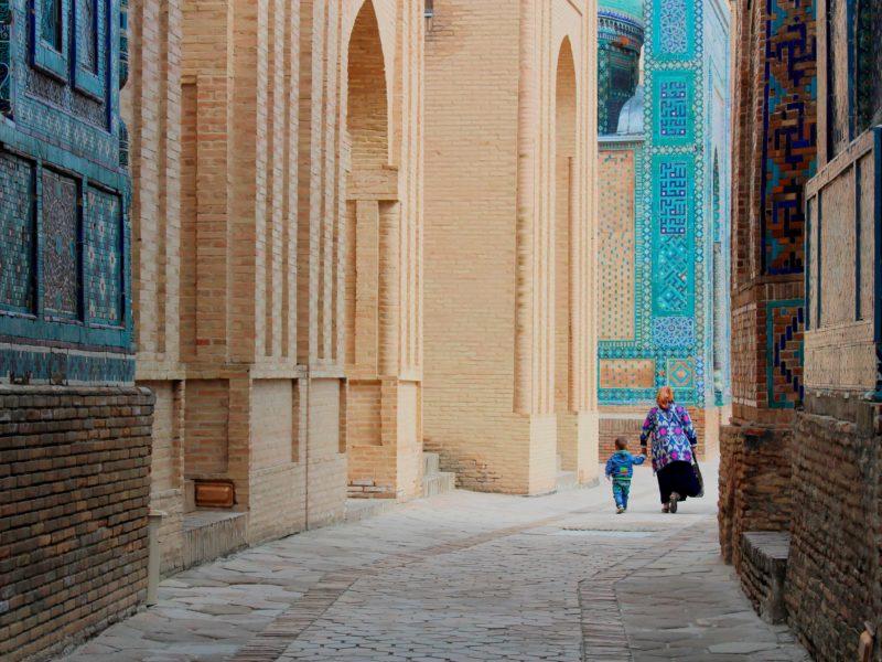 Photo du jour Ouzbékistan Samarcande Couleurs