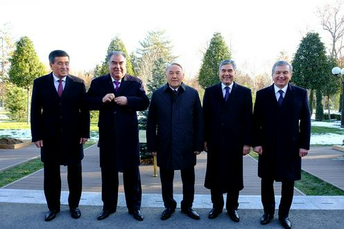 Ouzbékistan Tachkent Noursoultan Nazarbaïev Palais présidentiel Kouksaroï Sommet Asie centrale