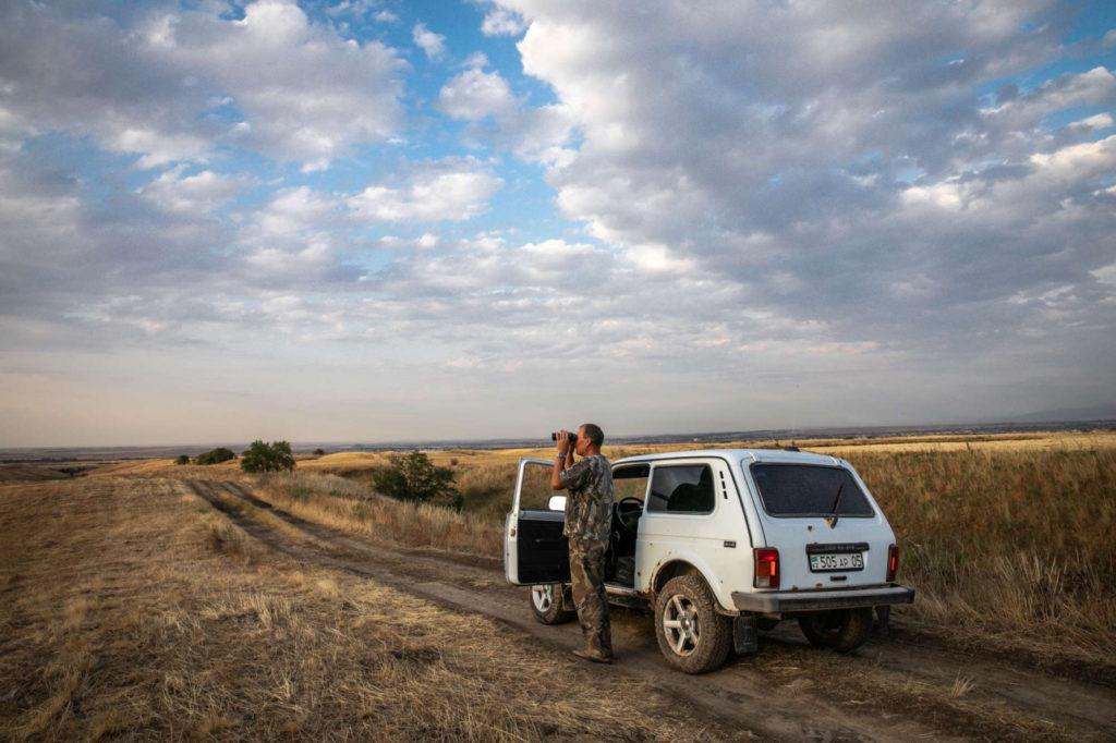 Kazakhstan Braconnage Garde-foretier Environnement