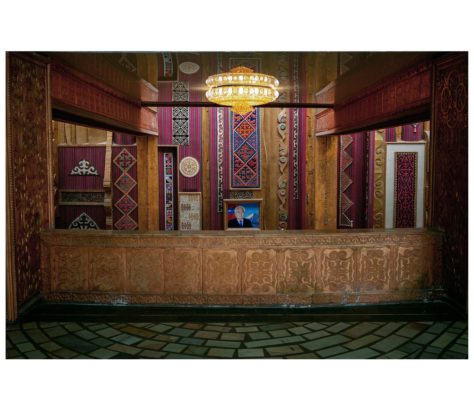 Ouzbékistan Photo du jour Hôtel Architecture
