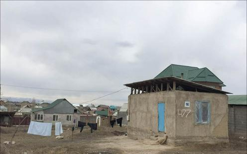 Kirghizstan Bichkek occupation des terres Société Urbanisme