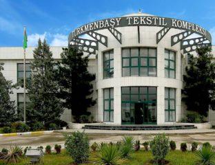 Turkménistan Mary Complexe textile Turkmenbachi usine