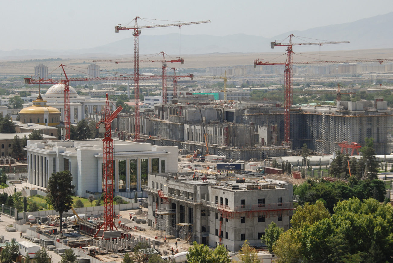Photo du jour Turkménistan Achgabat Architecture