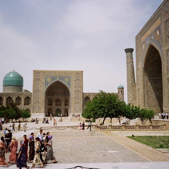 Ouzbékistan madrassa Registan