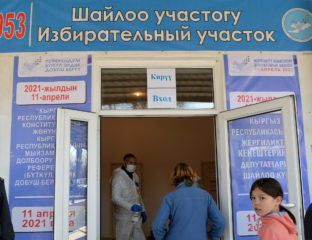 Election Référendum Kirghizstan Constitution