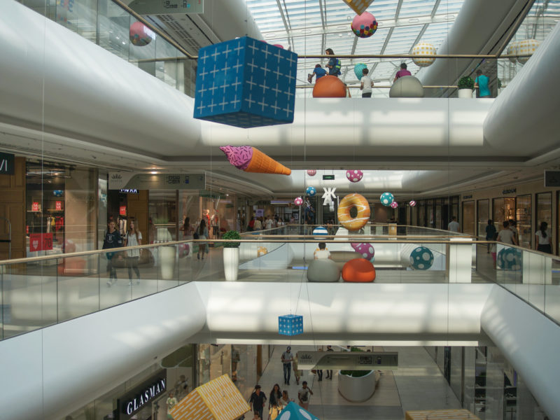 Shopping Mall Almaty