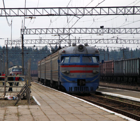 Train Ouzbékistan Tadjikistan Electrification Modernisation