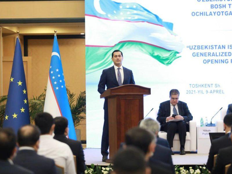 Ouzbékistan Union européenne SPG+ Système de Préférences généralisées Commerce