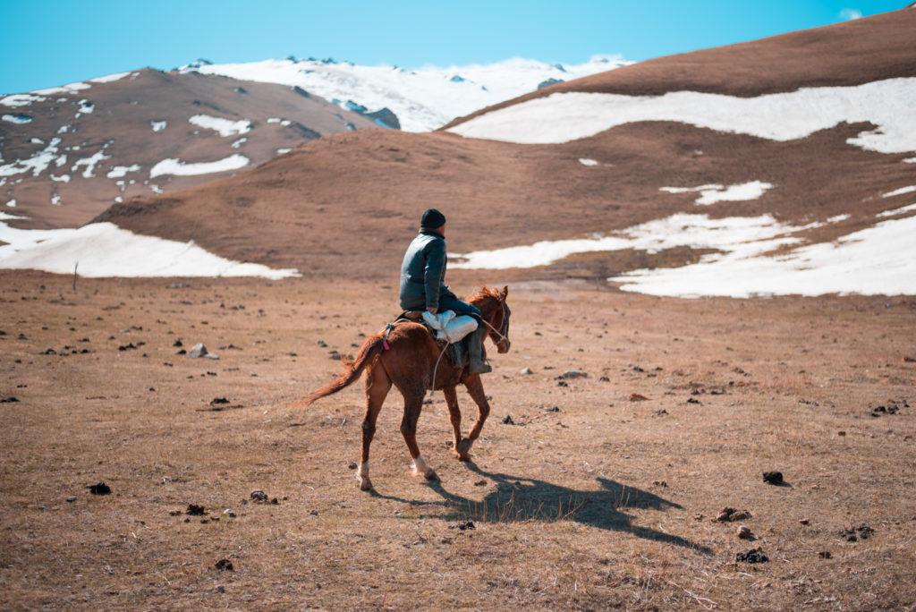 Kirghizstan Antoine Béguier Chevaux Montagnes