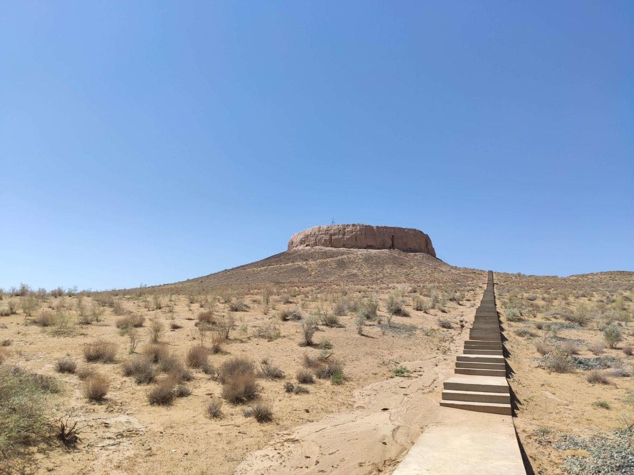 forteresse Chilpik Kala Noukous Ourgentch Ouzbekistan