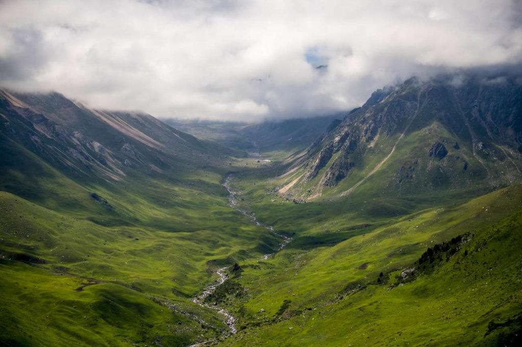 Kazakhstan Environnement Lac Bartogaï Tian Shan