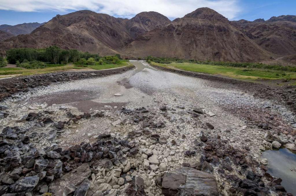 Kazakhstan Environnement Lac Bartogaï