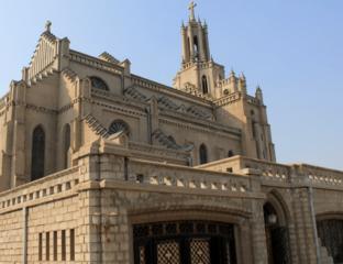Ouzbékistan Tachkent Cathédrale Sacré-Coeur Catholicisme