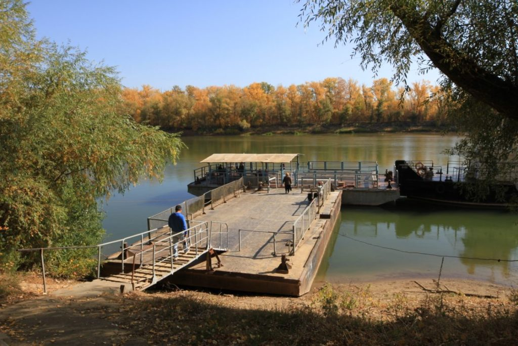 Environnement Kazakhstan Oural Bateliers