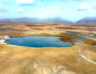 Naryn fleuve lac kirghizstan environnement nature eau steppes plaine