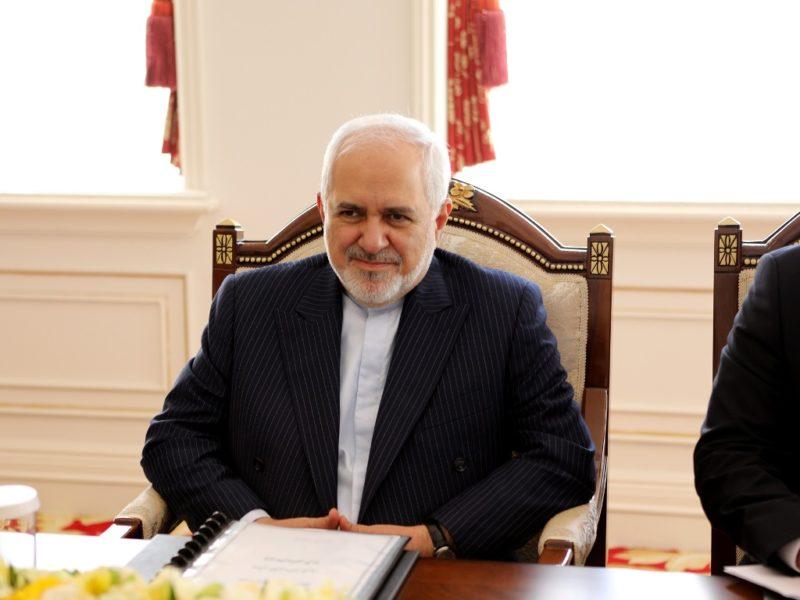 Mohammad Javad Zarif Iran Asie centrale Visite