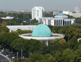 Ouzbékistan Tachkent Espaces verts