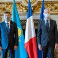 Commission Kazakhstan France Paris Ministres