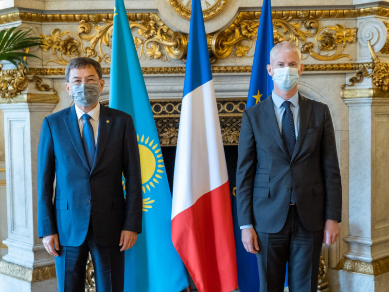 Commission Kazakhstan France Paris Ministres