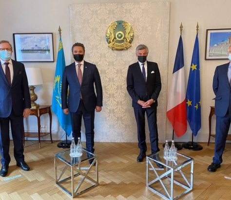 Inauguration Consulat Général Kazakhstan Strasbourg Diplomatie France