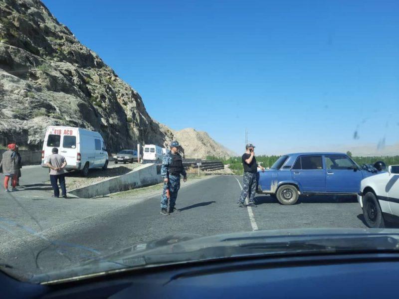Frontière Kirghizstan Tadjikistan Conflit Affrontements