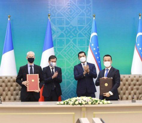 Riester Ministres Commission France Ouzbékistan Tachkent
