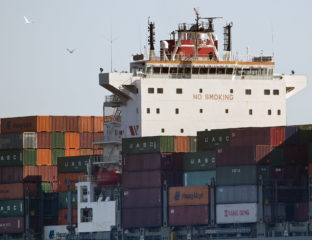 Hongrie Budapest Cargo Container Navire Exportations