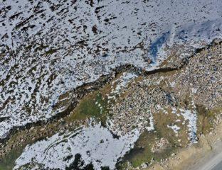 Rivière Talas Kazakhstan Kirghizstan Environnement