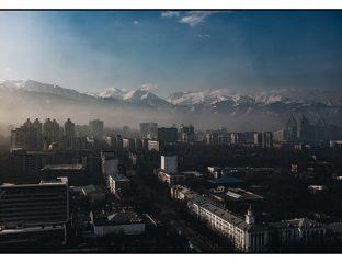 Almaty Environnement Pollution Changement climatique Kazakhstan