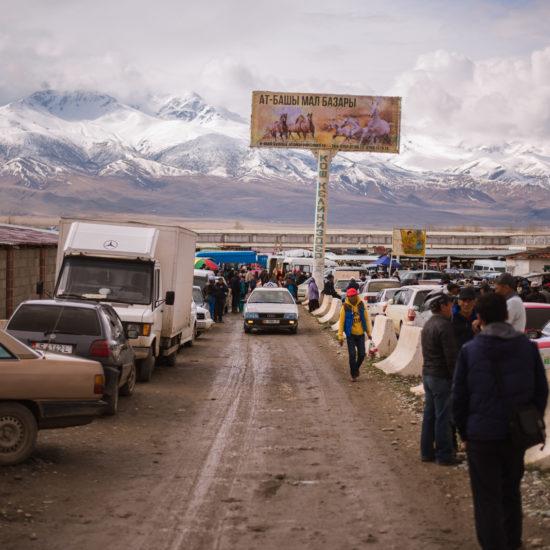 Kirghizstan At Bachy Antoine Béguier marché animaux