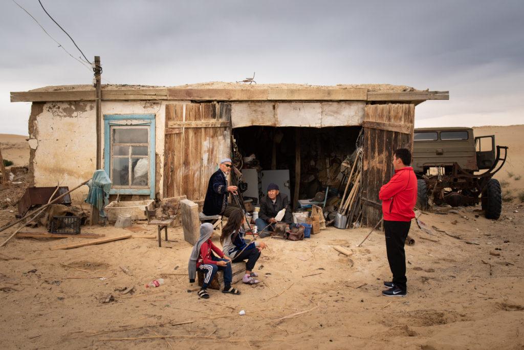 Aralsk mer d'Aral Kazakhstan Environnement Disparition Akespe
