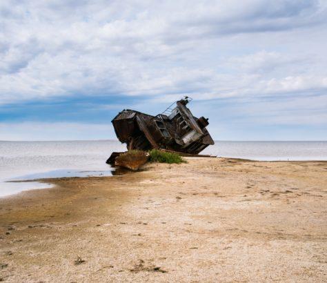 Aralsk mer d'Aral Kazakhstan Environnement Disparition