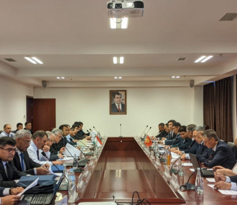 Tadjikistan Kirghizstan Négociations Frontière Démarcation