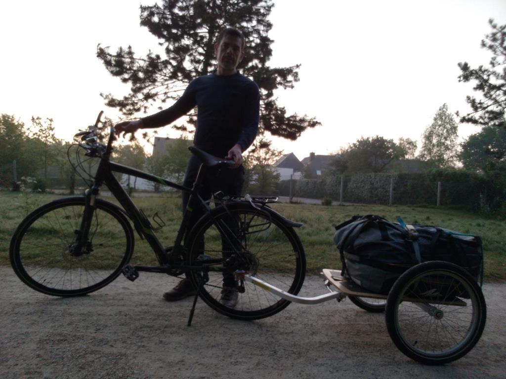 Laurent Mahé Rennes Almaty Vélo Voyage