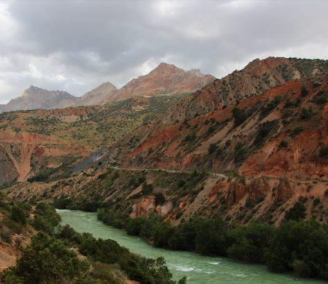 Photo du jour Tadjikistan Iskander Montagne Paysage