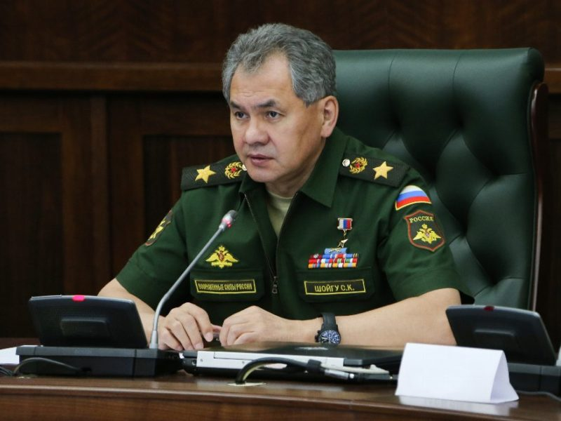 Ministre Défense Russie