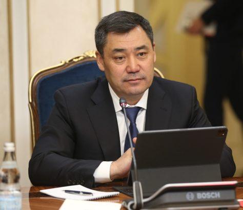 Kirghizstan Président Sadyr Japarov