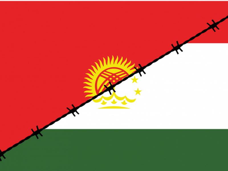 Tadjikistan Kirghizstan Conflit Frontière