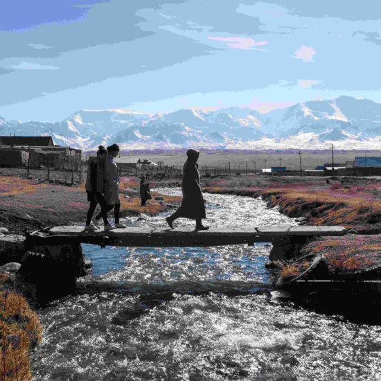 rivière Burgan-Suu musée Sary-Mogol