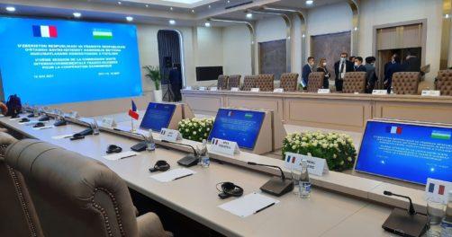 Ouzbékistan France Délégation Ministres