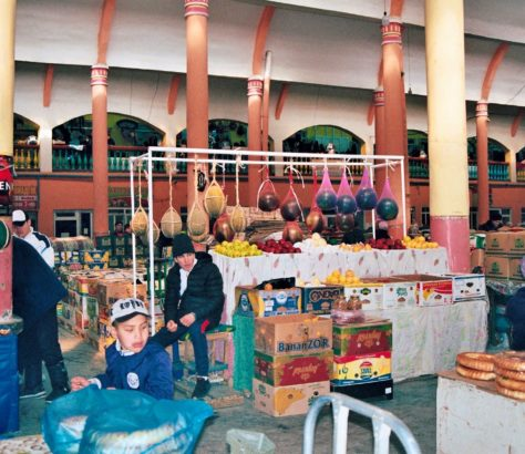 Panjchanbe bazar Khoudjand Tadjikistan effervescence
