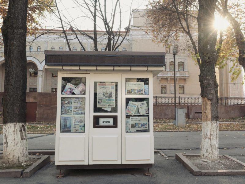 Ouzbékistan Tachkent Kiosque