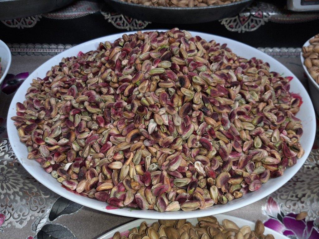 Tadjikistan Marché Pistaches