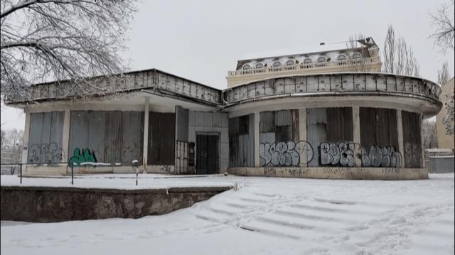 Kirghizstan Bichkek Planétarium Activisme Urbanisme